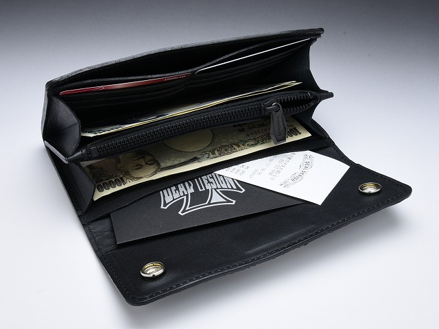 ◆Trucker roll wallet (oil Dakota)◆