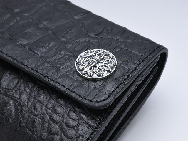 ◆A trucker roll wallet: Large concho◆