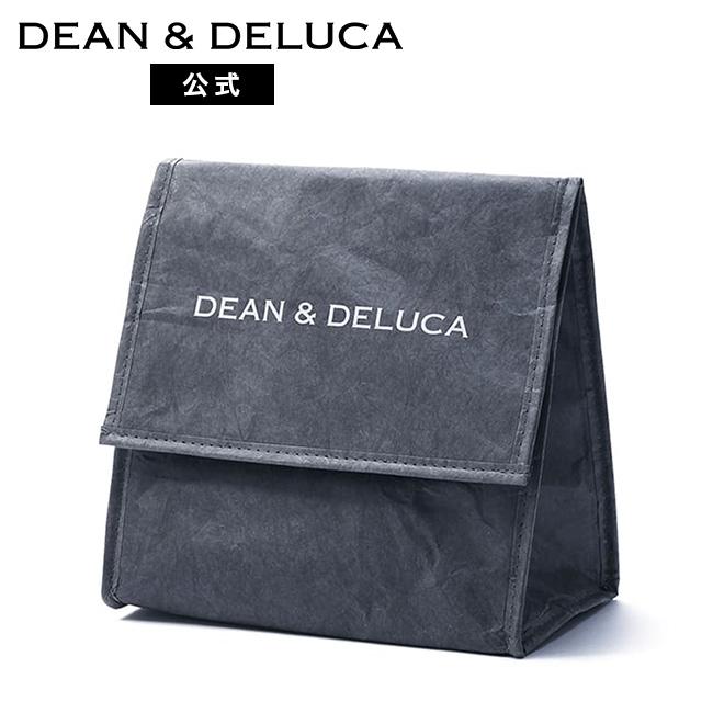 贈与 DEAN DELUCA 公式ストア ランチバッググレー 特価品コーナー☆ 折りたたみ コンパクト 保冷バッグ チルドバッグ ランチバッグ シンプル 新生活 クーラーバッグ おしゃれ お弁当 大人