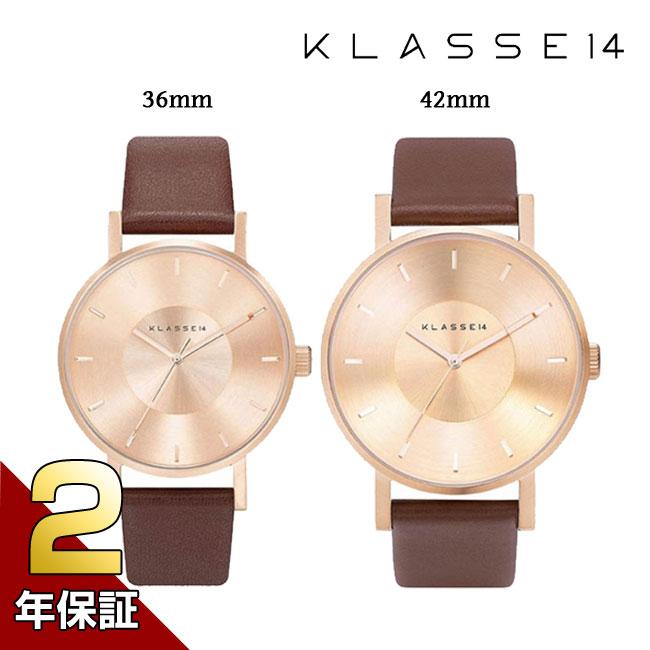 [2年保証] クラス14 KLASSE14 腕時計 プレゼント ギフト MARIO NOBILE VOLARE メンズ レディース 42mm 36mm ローズゴールド VO14RG002M VO14RG002W