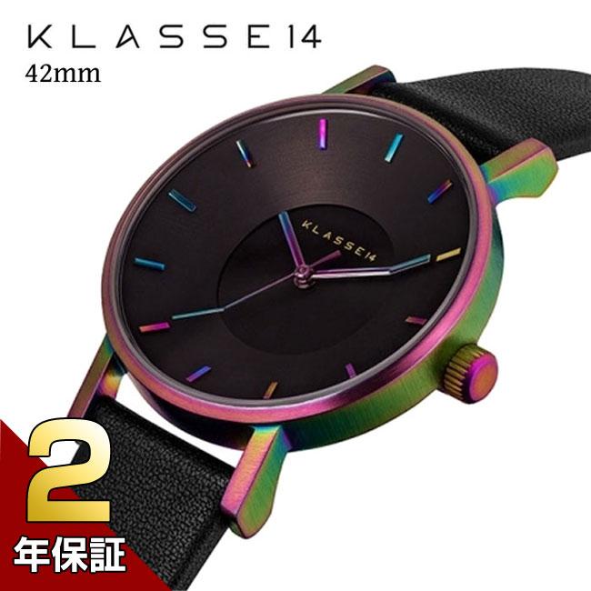 [2年保証]KLASSE14 クラス14 VO15TI001M MARIO NOBILE VOLARE RAINBOW 腕時計 メンズ レディース 42mm レインボウ×ブラック プレゼント 母の日