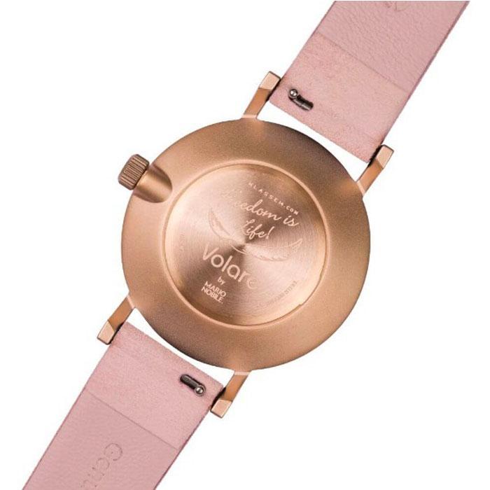 [2年保証]KLASSE14 クラス14 VO17MV001W MISS VOLARE 36mm POWDER DIAL & STRAP 腕時計 メンズ レディース 36mm ピンク プレゼント 母の日