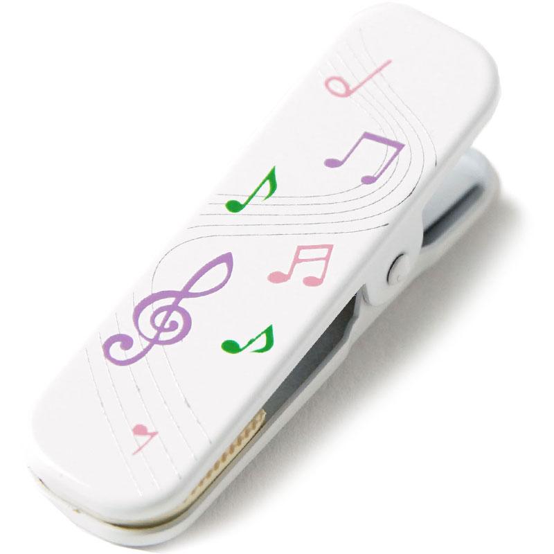 音楽好きにもオススメ 便利に使える小さいサイズの着物クリップ きものクリップ 着付けクリップ 音符 ピンク 至高 単品 襟止め 着付け小物 帯止め 衿止め 人気急上昇 小