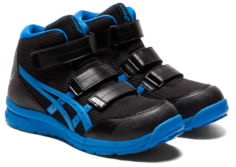 【特別な限定商品】FCP203 アシックスasics安全靴 ウィンジョブCP203 マジックテープタイプのハイカットベルトタイプ作業靴 メッシュ素材 (JSAA A種 樹脂先芯)