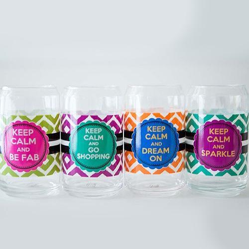 大人気 メイソンジャー メッセージメイソンジャー 缶シェイプ 爆買い送料無料 グラス Mason 流行 みんな大好きメイソンジャー コップ jar 4個セット