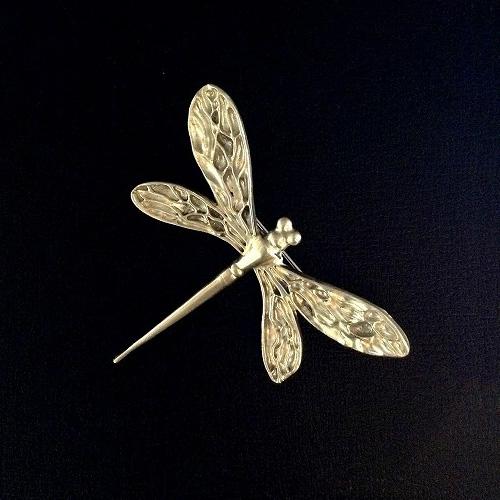 蜻蛉(とんぼ・トンボ)ブローチ(シルバー)