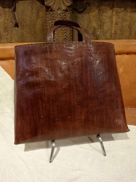 ヌメ革バック「ミラソル」 ビジネストートバッグ LE29-BR 【 ■送料無料■ 】