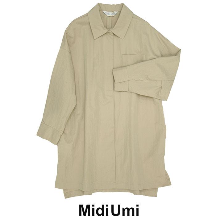 MidiUmi ミディウミ 期間限定送料無料 ワークワイドシャツジャケット 買物 6 1-778050