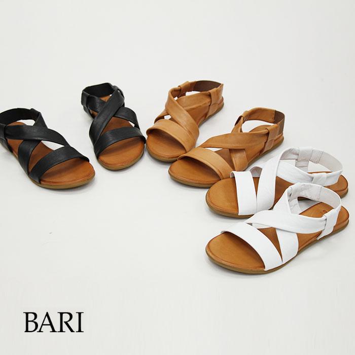 BARI バリ レザーサンダル KIRA 21◇3