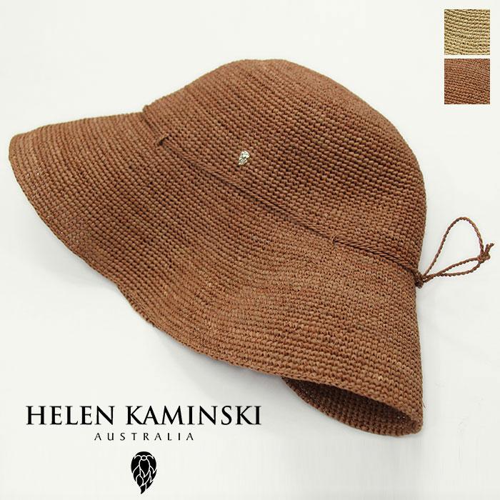 HELEN KAMINSKI 安心の定価販売 買い取り ヘレンカミンスキー ラウンドクラウンハット PROVENCE レディース ハット 10