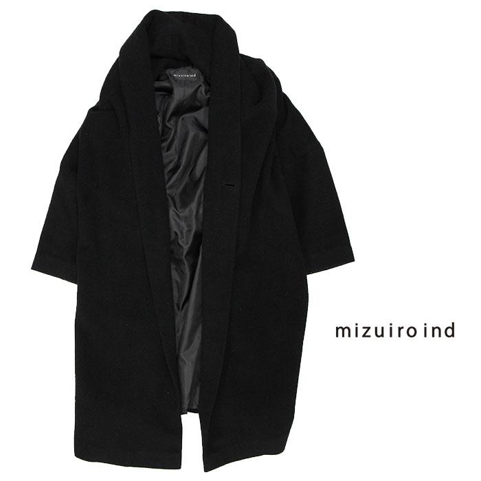 【SALE☆☆☆☆☆】mizuiro-ind ミズイロインド ローブコート 4-270881