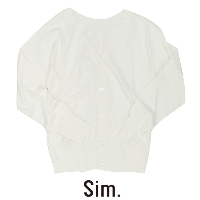 【SALE☆☆☆】Sim シム Vネックカーディガン S183KM060-B***