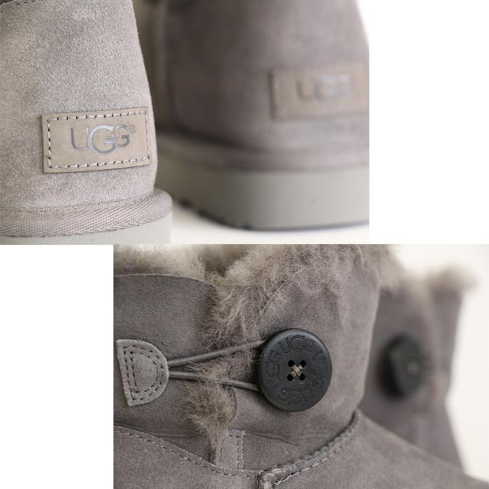 【国内正規販売店】【撥水】 UGG/アグ 1016422 W Mini Bailey Button 2   ウィメンズ ミニ ベイリー ボタン II   [全3色] ムートンブーツ UGG ブーツ アグ ブーツ ugg  クラシック レディース  デッカーズ