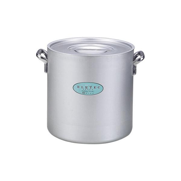 【代引き・同梱不可】エコクリーン アルミエレテック寸胴鍋 30cm 004608-030