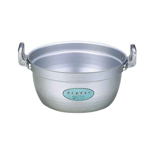 【代引き・同梱不可】エコクリーン アルミエレテック料理鍋 45cm 004611-045