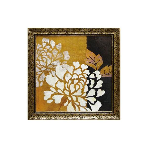 【代引き・同梱不可】ユーパワー アートフレーム ベラ ドス サントス「グラマー オブ ゴールド1」 BD-13501壁掛け 絵 ウォール