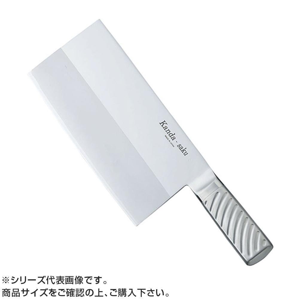 【代引き・同梱不可】神田作 共柄中華包丁 KT-7 600g 438025
