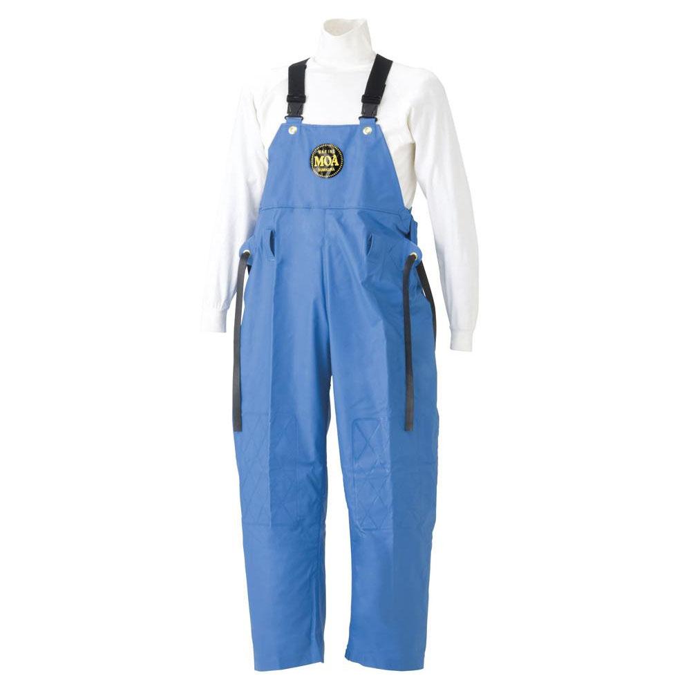 【代引き・同梱不可】スミクラ マリン胸付ズボン G-229ブルー EL