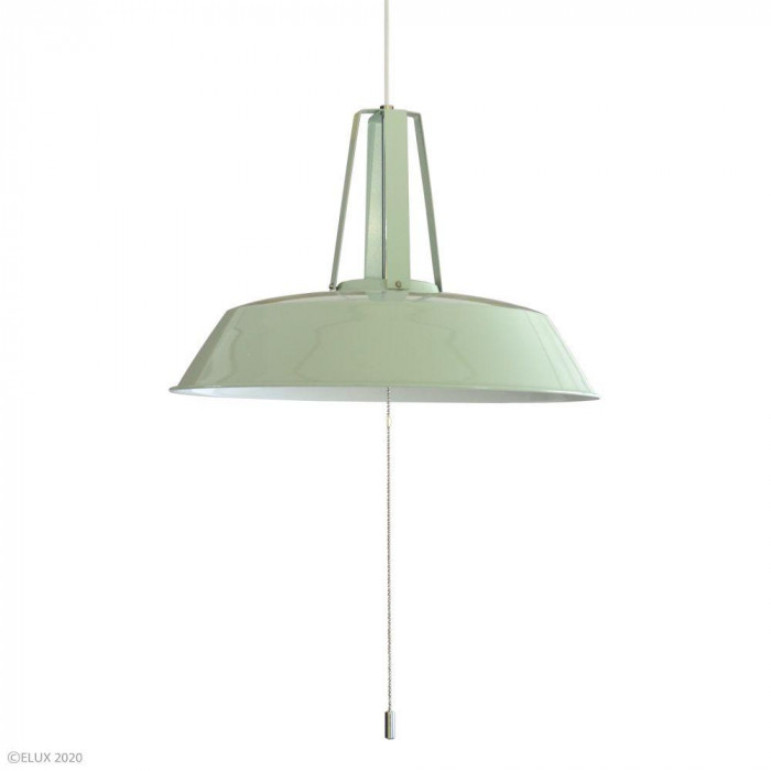 【代引き・同梱不可】ELUX(エルックス) COMMY-3(コミー3) 3灯ペンダントライト グリーン LC10937-GR