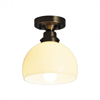 【代引き・同梱不可】シーリングライト オリオン 鉄鉢・CL型BR (60Wホワイトシリカ球付) GLF-3363