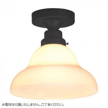 【代引き・同梱不可】シーリングライト ベルリヤ・CL型BK (電球なし) GLF-3253X