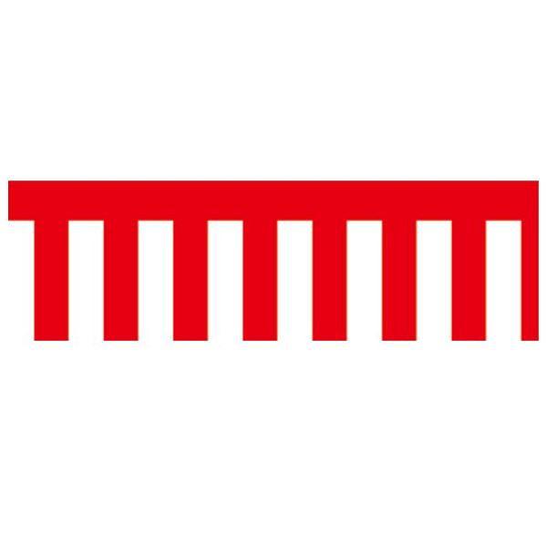 【代引き・同梱不可】ササガワ タカ印 40-7500 ラウンドシート 紅白幕