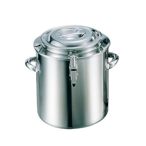 【代引き・同梱不可】EBM 18-8 湯煎鍋 24cm 10L 55700