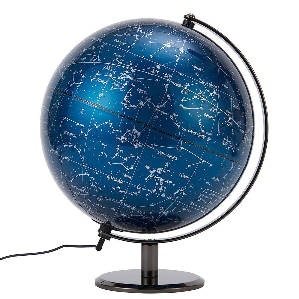 【代引き・同梱不可】茶谷産業 Fun Science 天球儀 ライト 331-102科学 サイエンス オシャレ