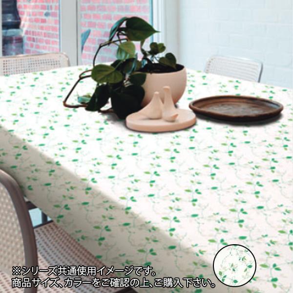 【代引き・同梱不可】富双合成 テーブルクロス 約130cm幅×15m巻 ER6 グリーン