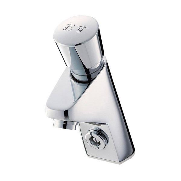 【代引き・同梱不可】SANEI 自閉式立水栓 Y5966-13