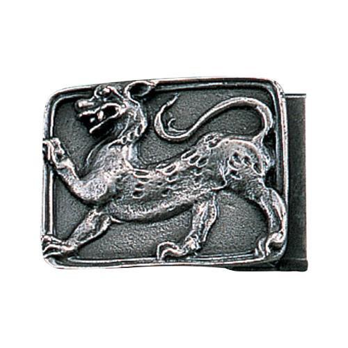 【代引き・同梱不可】高岡銅器 銅製小物 名取川雅司作 バックル トラ 52-08