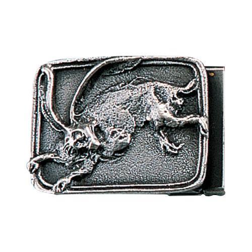 【代引き・同梱不可】高岡銅器 銅製小物 名取川雅司作 バックル ウサギ 52-09