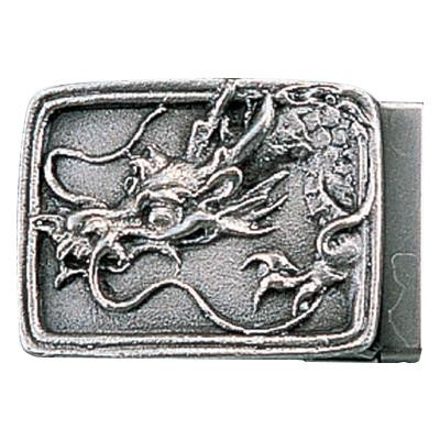 【代引き・同梱不可】高岡銅器 銅製小物 名取川雅司作 バックル タツ 52-10