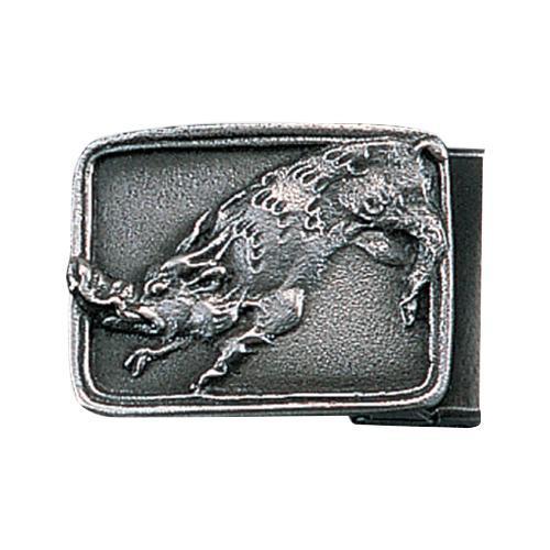 【代引き・同梱不可】高岡銅器 銅製小物 名取川雅司作 バックル イノシシ 52-17
