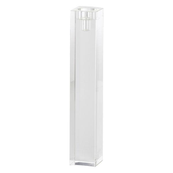 【代引き・同梱不可】ガラス花瓶 CRYSTAL pillar 6□35H CLEAR 710-713-000