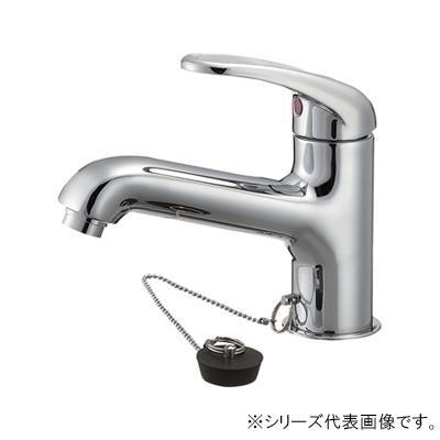 【代引き・同梱不可】三栄 SANEI U-MIX シングルワンホール洗面混合栓 K4710JV-13