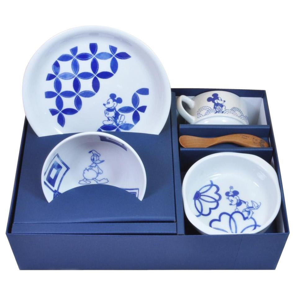 【代引き・同梱不可】三郷陶器 ディズニー・ベビー ファーストミールセット スタンダード 3254-01食器 割れにくい 赤ちゃん