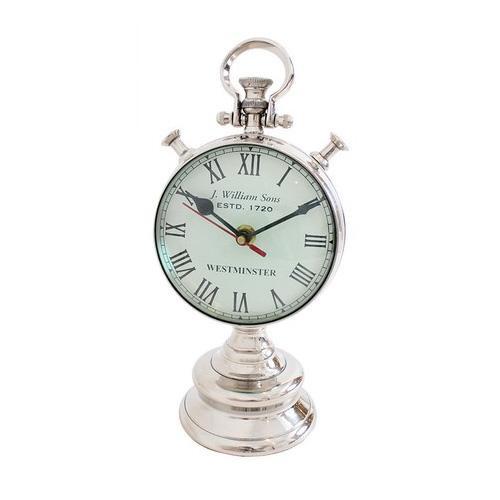 【代引き・同梱不可】両面 置時計 KG-44921
