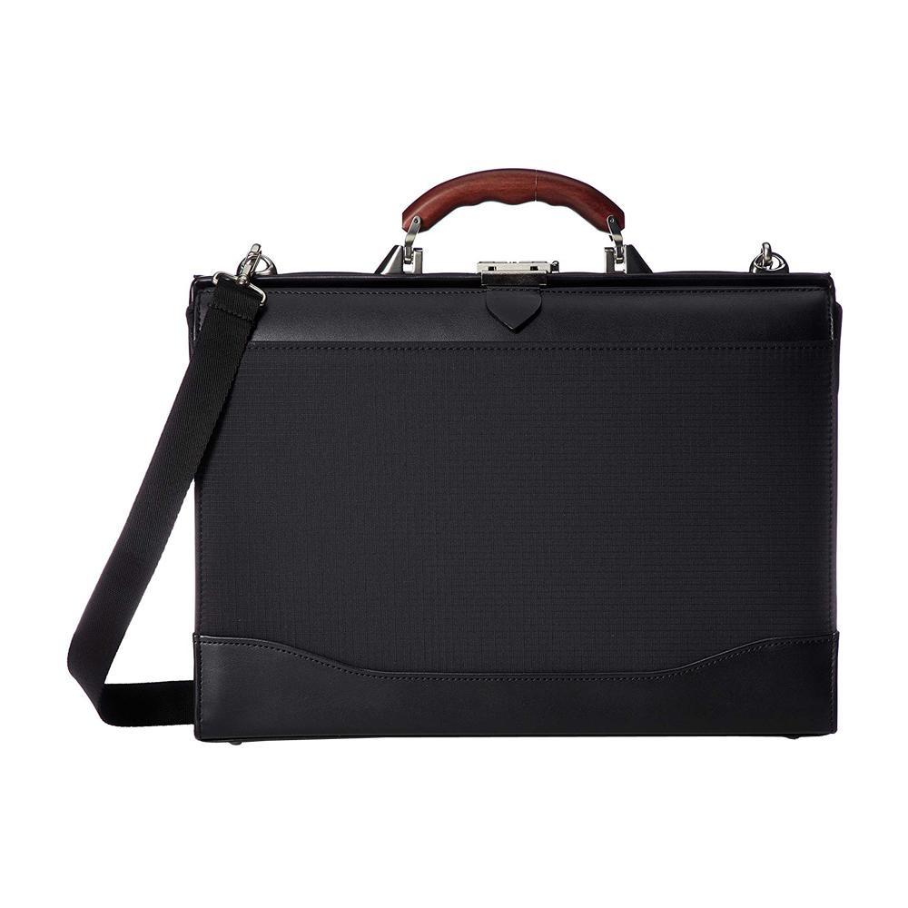 【代引き・同梱不可】日本製 EVERWIN(エバウィン) ダレスバッグ ブラック 21573