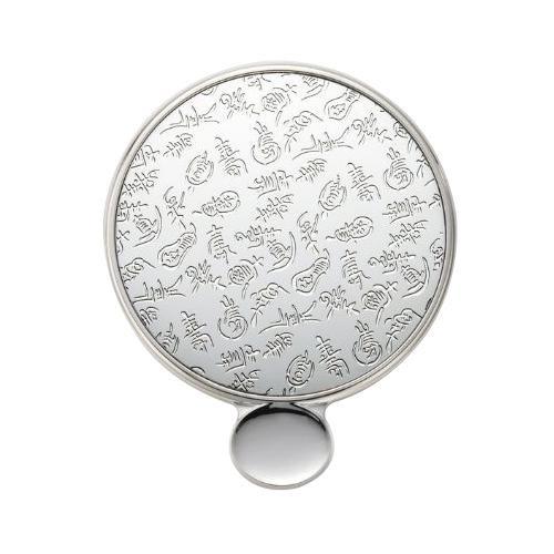 【代引き・同梱不可】カタガミメタル 手鏡S 壽 KA-150