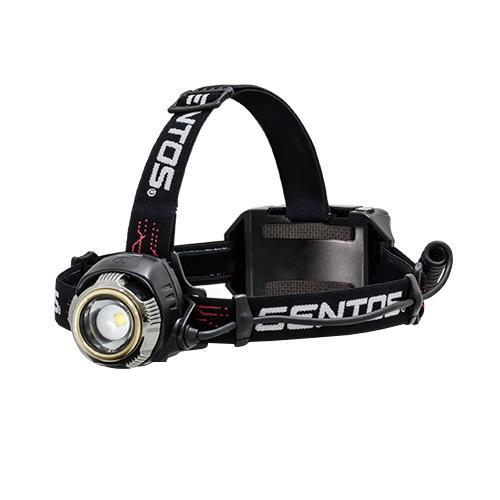 【代引き・同梱不可】GENTOS Gシリーズ LEDヘッドライト 大型べゼル搭載 高出力ハイブリッドモデル GH-100RG