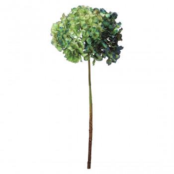 【代引き・同梱不可】アーティフィシャルフラワー ノスタルジックハイドレンジア グリーン 6本セット FD4217 アレンジメント