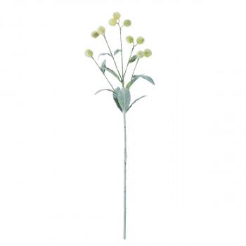 【代引き・同梱不可】アーティフィシャルフラワー ルリタマアザミ クリーム/グリーン 12本セット F5023 アレンジメント