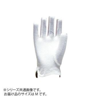 【代引き・同梱不可】勝星 縫製手袋(スムス手袋) コットンセームS.O ♯201 M 12双
