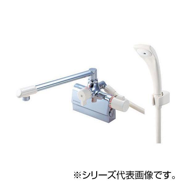【代引き・同梱不可】SANEI サーモデッキシャワー混合栓 SK78DK-13