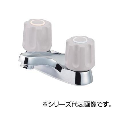【代引き・同梱不可】SANEI ツーバルブ洗面混合栓 K511NPK-LH-13