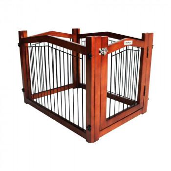 【代引き・同梱不可】シンプリープラス シンプリーシールド エリート 木製ゲート DWM07