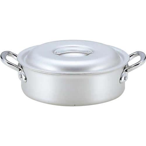 【代引き・同梱不可】3159245 業務用マイスターアルミ外輪鍋45cm