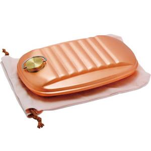 【代引き・同梱不可】新光堂 純銅製湯たんぽ S-9395