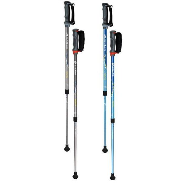 【代引き・同梱不可】SINANO×Phiten シナノ×ファイテン 2本組 レビータ 3Sモデル ウォーキングポール健康器具 杖 スティック